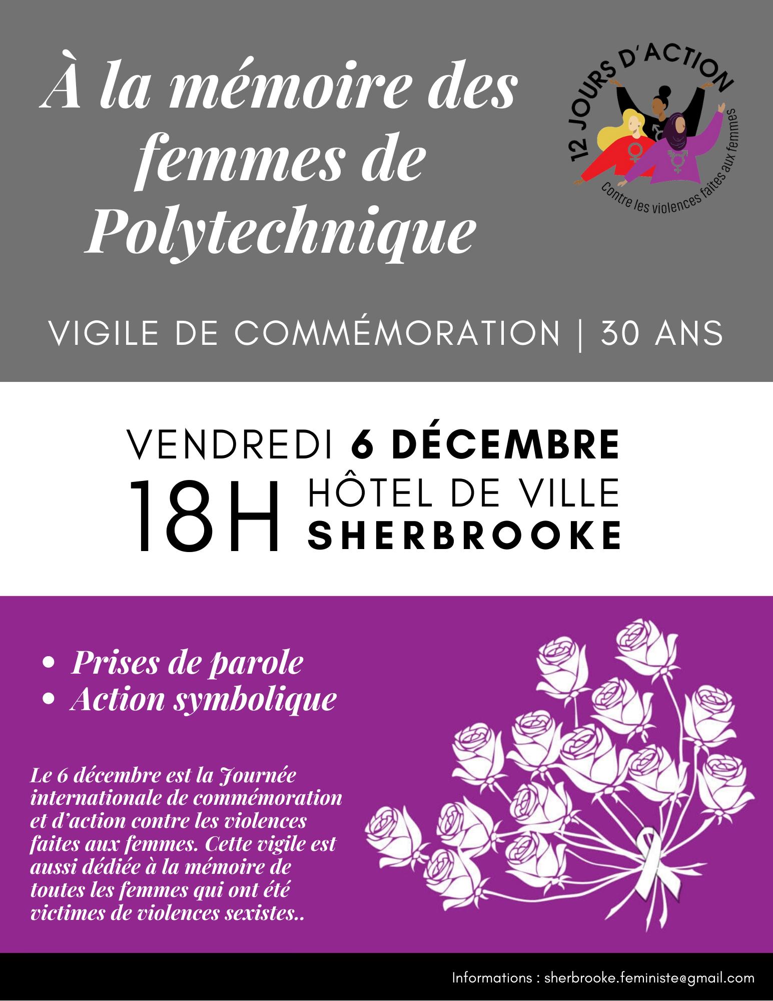 À la mémoire des femmes de Polytechnique - Commémoration 30 ans