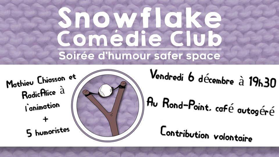 Snowflake Comédie Club - décembre 2019
