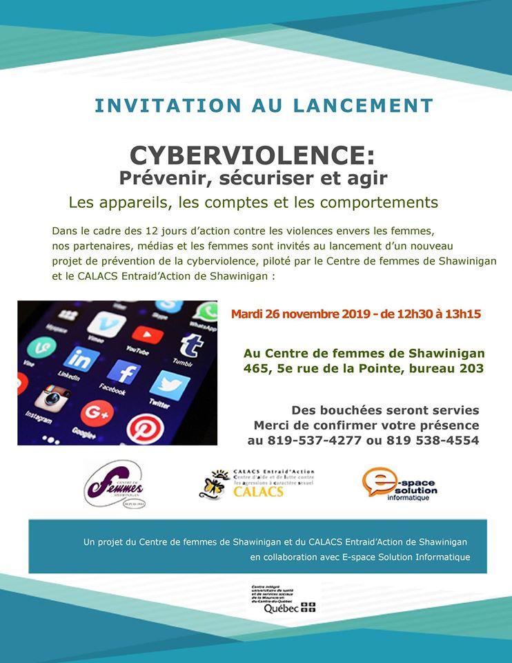 Cyberviolence: prévenir, sécuriser et agir