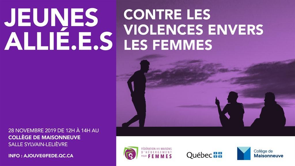 Jeunes allié.e.s contre les violences envers les femmes