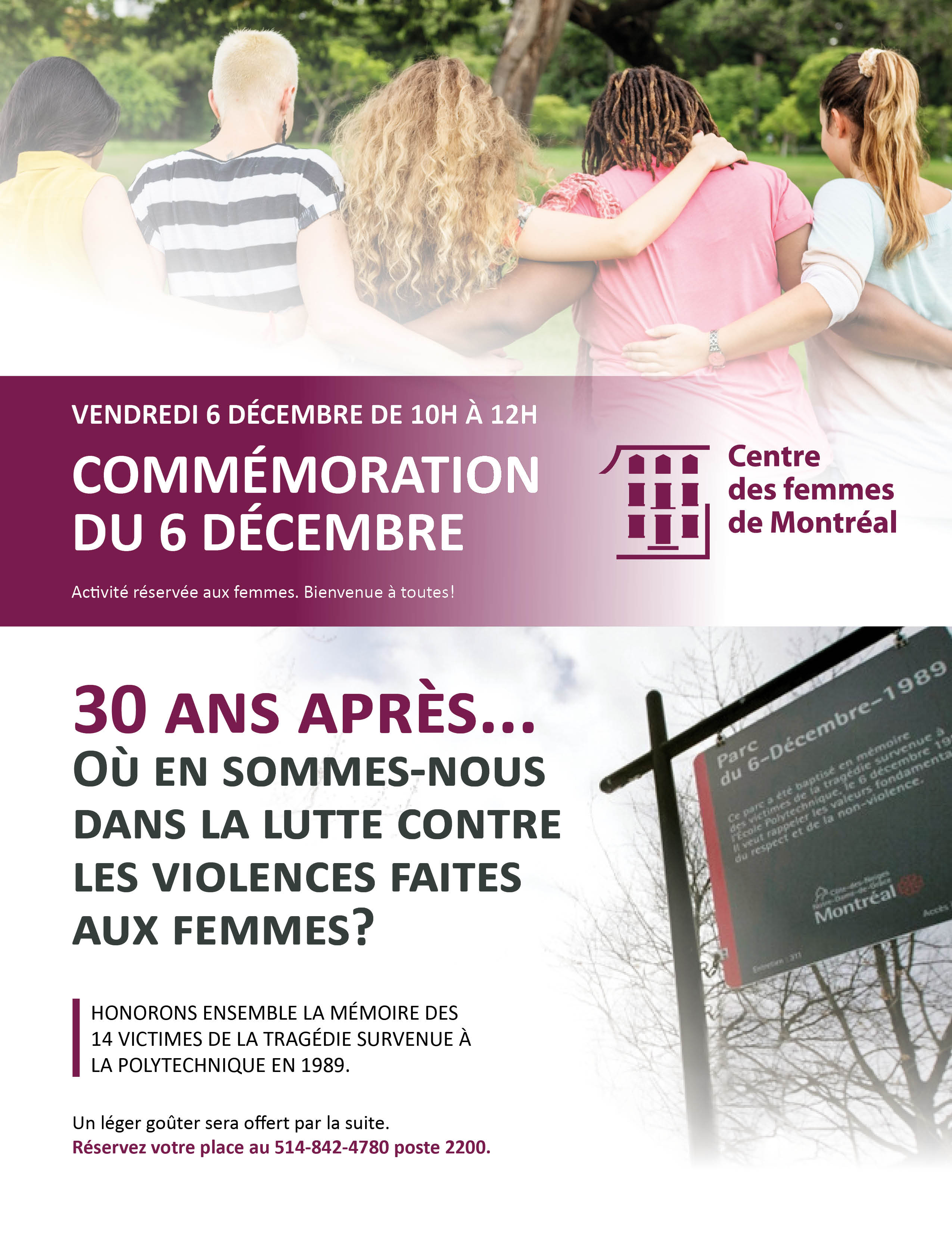 Commémoration du 6 décembre