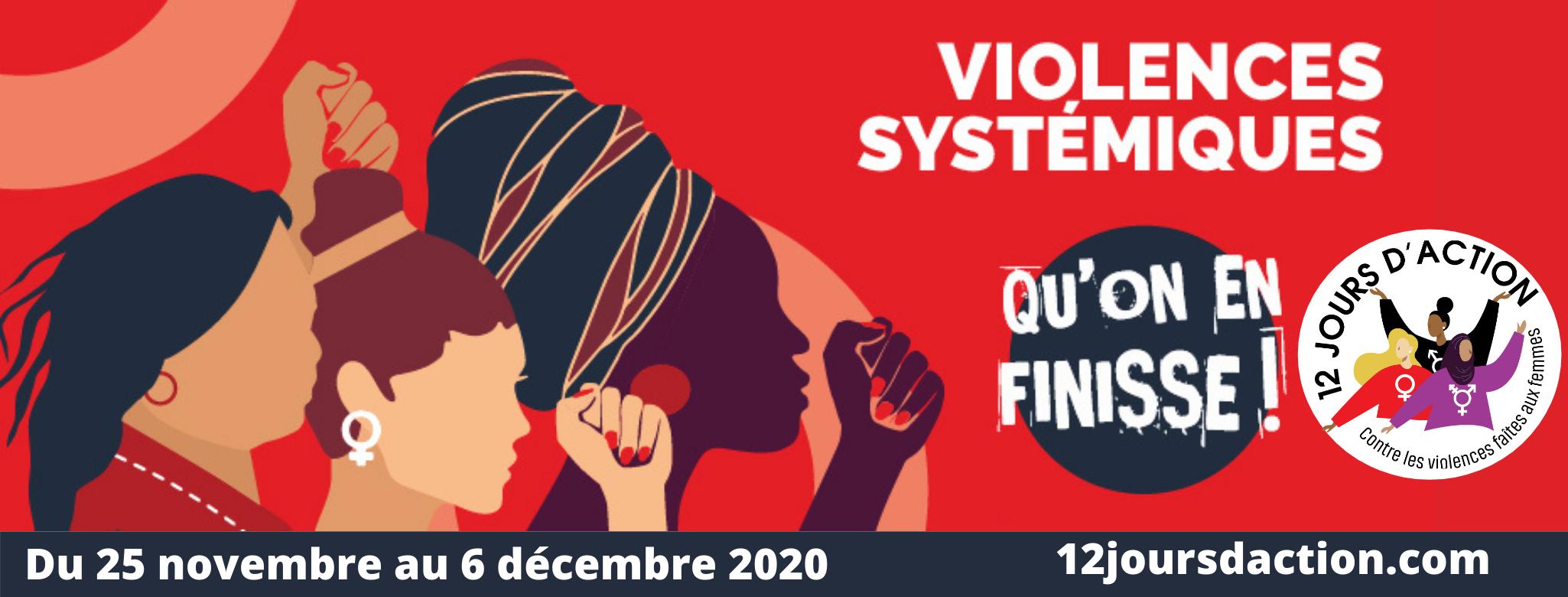 Lancement de la campagne des 12 jours d'action contre les violences faites aux femmes