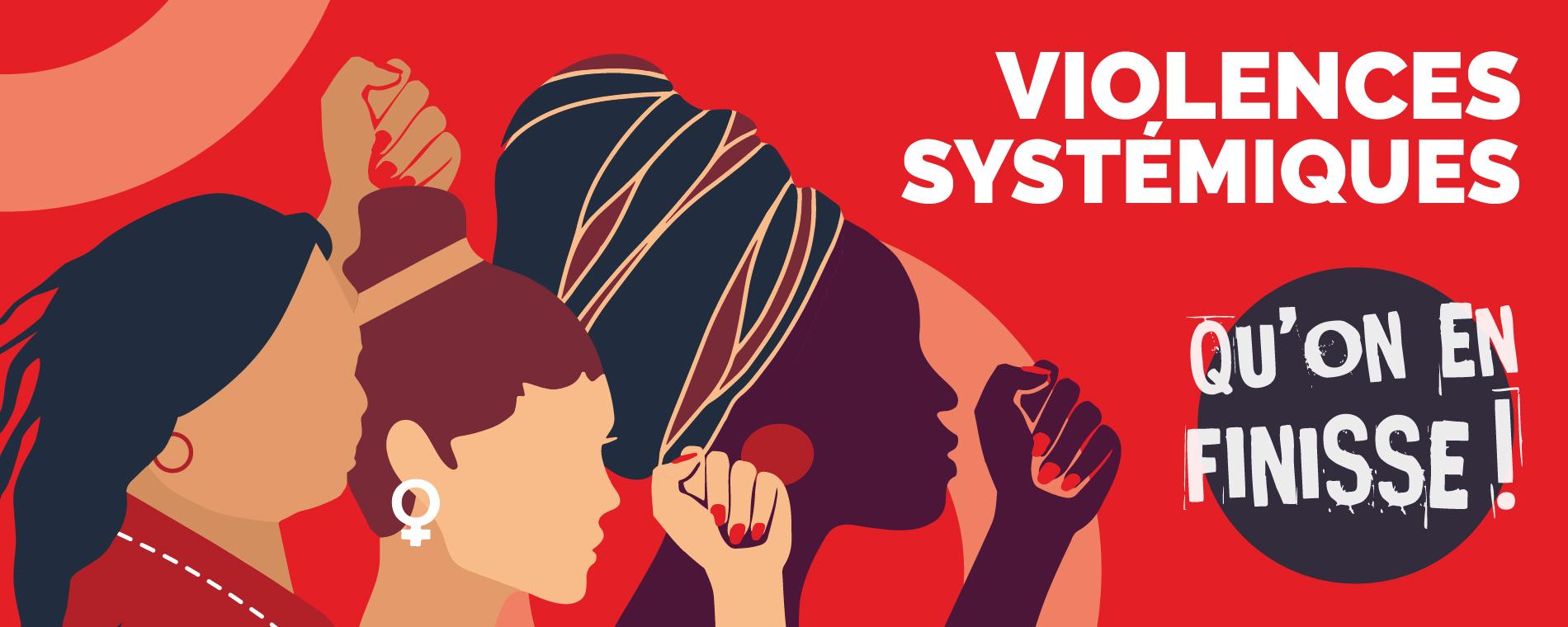 Panel sur les violences systémiques et institutionnelles à l'égard des femmes dans différentes sphères sociales